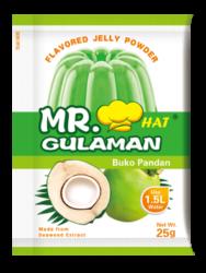 Mr. Gulaman Buko Pandan 10/25g