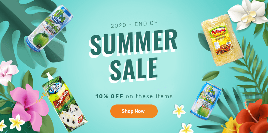 End of Summer Sale 2020 | 10 Percent Off